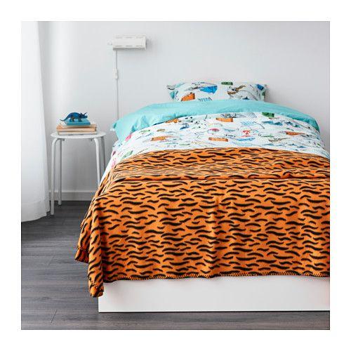 DUVTRÄD 毛布/ベッドカバー - IKEA DUVTRÄD 毛布/ベッドカバー IKEA 肌ざわりが柔らかなフリース素材。お手入れが