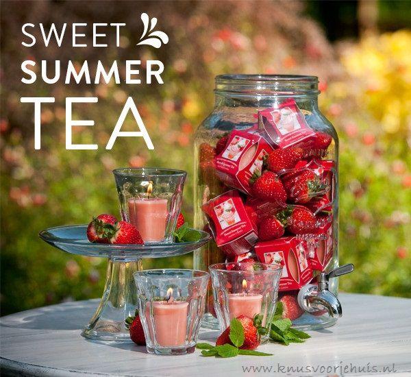 Sweet Summer Tea | Knusvoorjehuis.nl voor woonaccessoires en geuren thuis