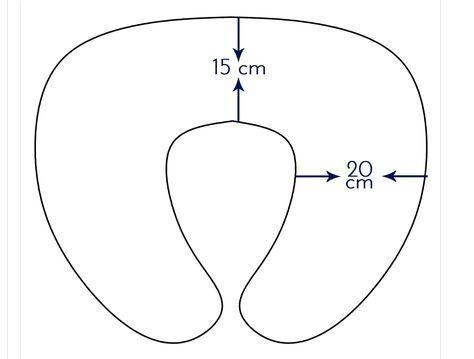 Resultado de imagen para patrones para hacer almohadas cervicales de niños