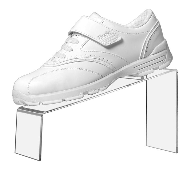 """Clear Acrylic Slanted Shoe Stand Holder Display 9""""L x 4""""W x 5""""H #marketingholders"""