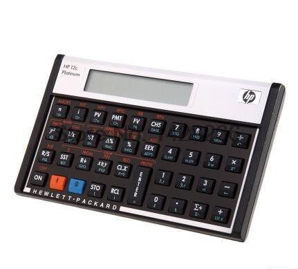 2016 Hot Sale HP 12C Platinum Financial Calculator & popular Calculadora