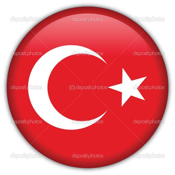 icono de la bandera de Turquía — Vector stock © srdjanbg #5100723