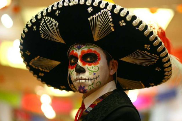 Day of the Dead for Men | Halloween | Pinterest | The dead ...