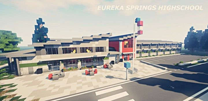 Eureka Springs Highschool - Project Realism 4K Minecraft