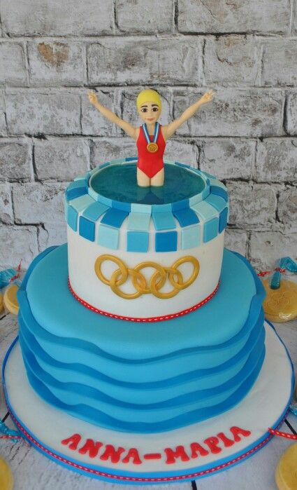 25 Best Ideas About Swim Cake On Pinterest Swimming