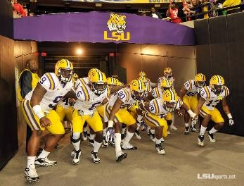 LSU football ranked number 1 in coaches' poll