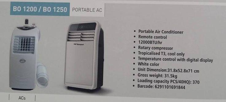 Bompani Portable Airconditioner (BO 1250)