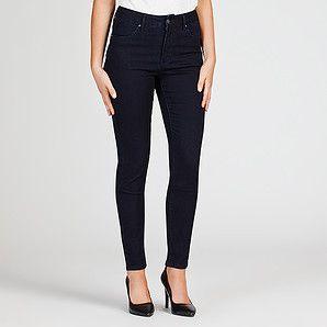 Dannii Minogue Petites Dark Indigo High Waisted Skinny Jeans – Target Australia $59 wort trying - high waisted size 4 -1 6