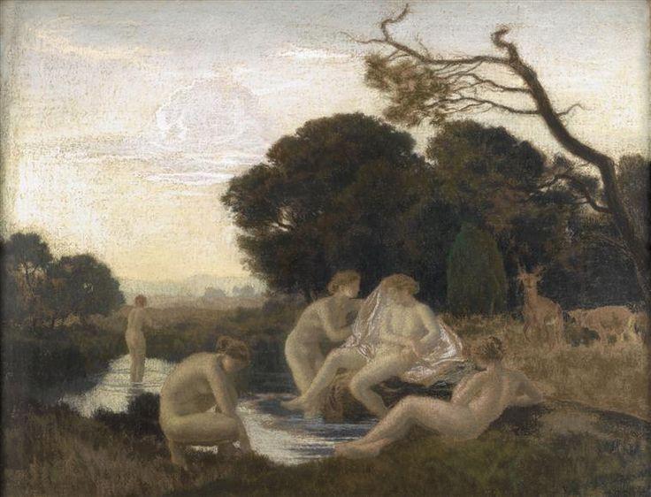 Réne Ménard - Le bain de Diane