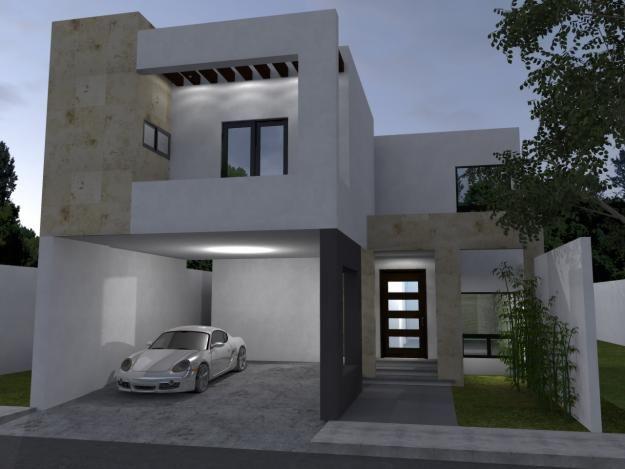 fachadas de casas con cochera - Buscar con Google