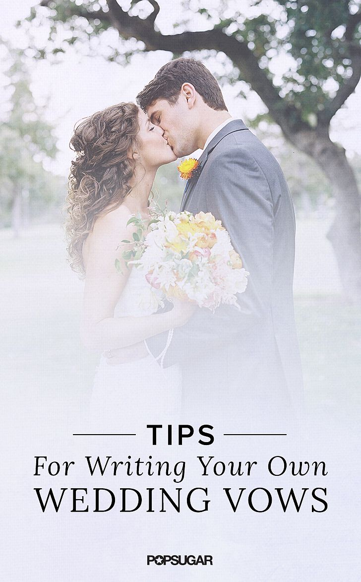 Funny wedding vows - My Husband And I Wrote Our Own Wedding Vows And Those Words Were The Very