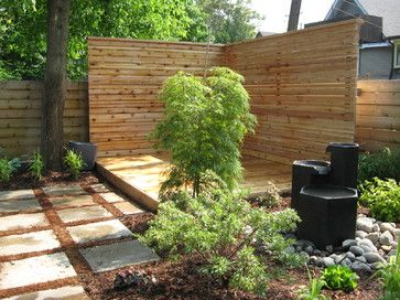 Cheap landscaping ideas for back yard privacy for Cheap back garden designs