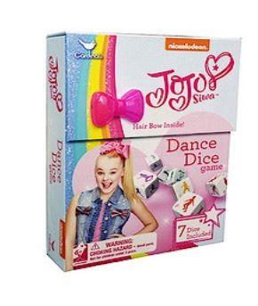 JoJo Siwa Dance Dice Game [thetoyshop.com]