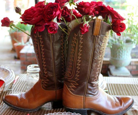 17 Best Images About Cowboy Boot Vase On Pinterest