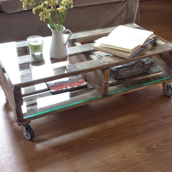 M s de 25 ideas incre bles sobre mesas hechas con palets for Mesas de palets para jardin