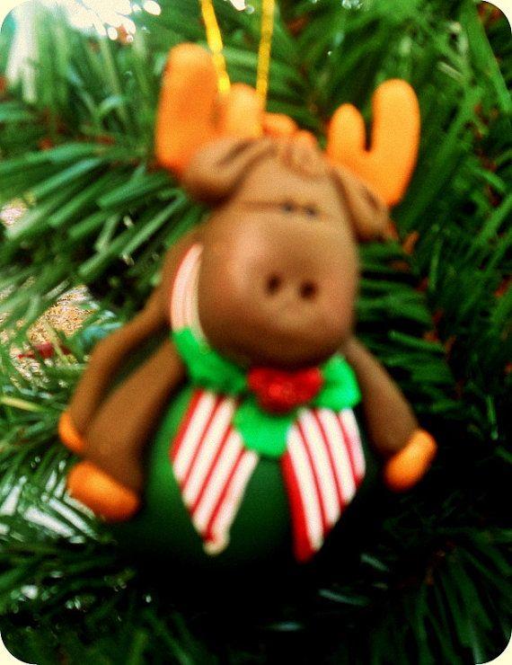 24 best Christmas Moose Glasses Or Moose Mugs And Decorations From - moose christmas decorations
