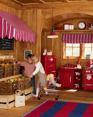 10 Images About Diy Kids Play Market Restaurant On