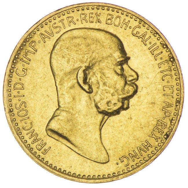 10 KRONEN 1908 REGIERUNGSJUBILÄUM KAISERREICH FRANZ JOSEPH I. 1848 - 1916