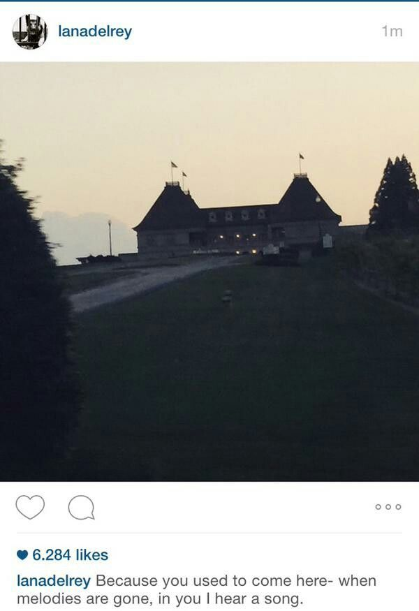 """Lana Del Rey on Instagram #LDR #quotes possibly from Whitney Houston's song """"I Look To You"""""""