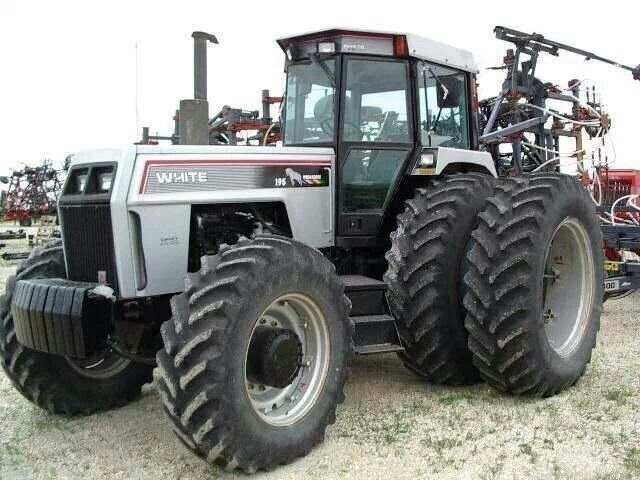 White Tractor Rims : Best images about white tractors on pinterest john