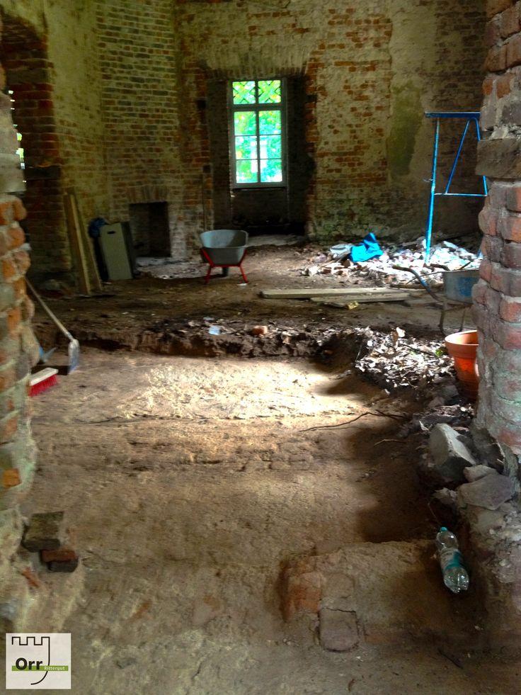 Baufortschritte Herrenhaus Orr Mitte August 2013