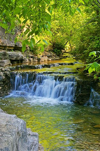 Cove Springs Falls, Cove Springs Park, Frankfort, KY