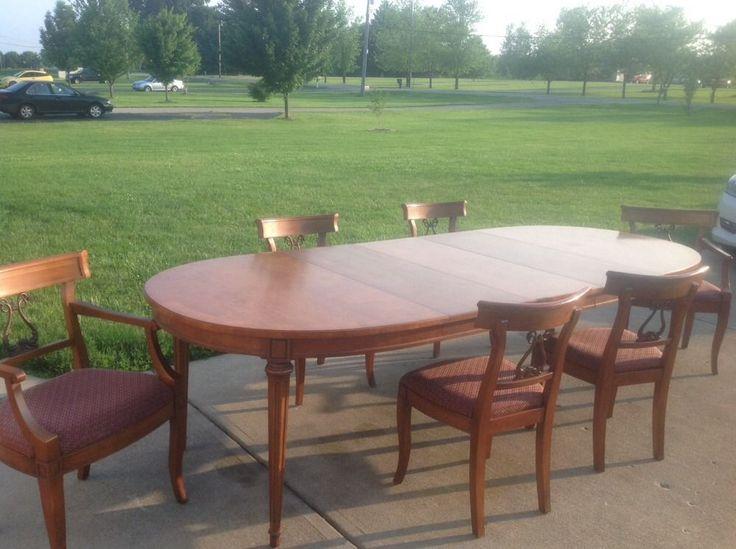 Henredon Walnut 9 Piece Dining Room Set  Dining Room  Pinterest Impressive Henredon Dining Room Chairs Review