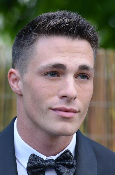 Colton Haynes hair