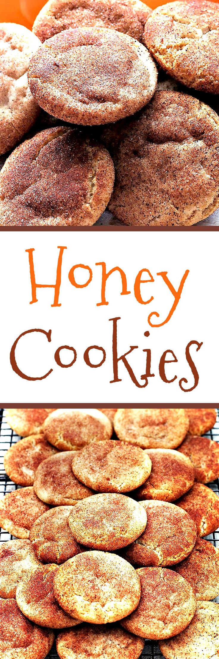 Honey and coconut oil cookies