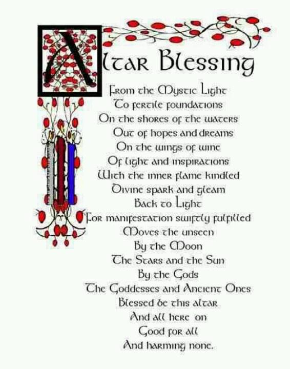 Altar Blessing
