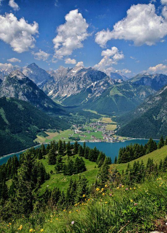 Pertisau village on Achensee, Tyrol, Austria by colinscott210