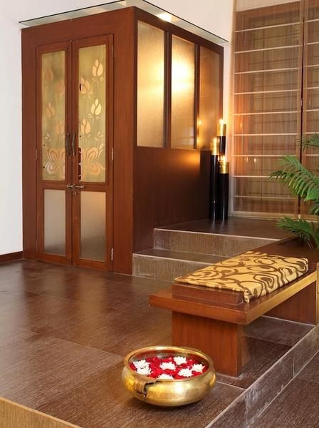 South Wall Decoration According To Vastu : Best ideas about puja room on indian homes