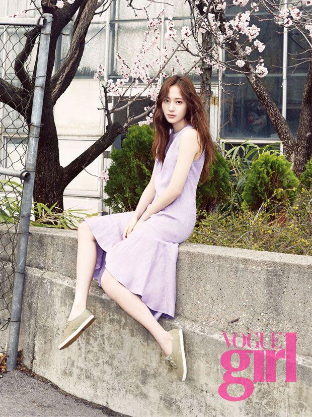 twenty2 blog: f(x)'s Krystal in Vogue Girl Korea May 2015 | Fashion and Beauty