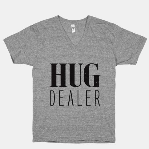 I don't deal drugs, I deal hugs instead. Cause hug dealers, don't end up dead (as much). #divinecomedy #byu #good