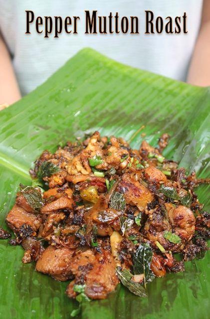 Pepper Mutton Roast Recipe - Pepper Mutton Dry Recipe - Yummy Tummy