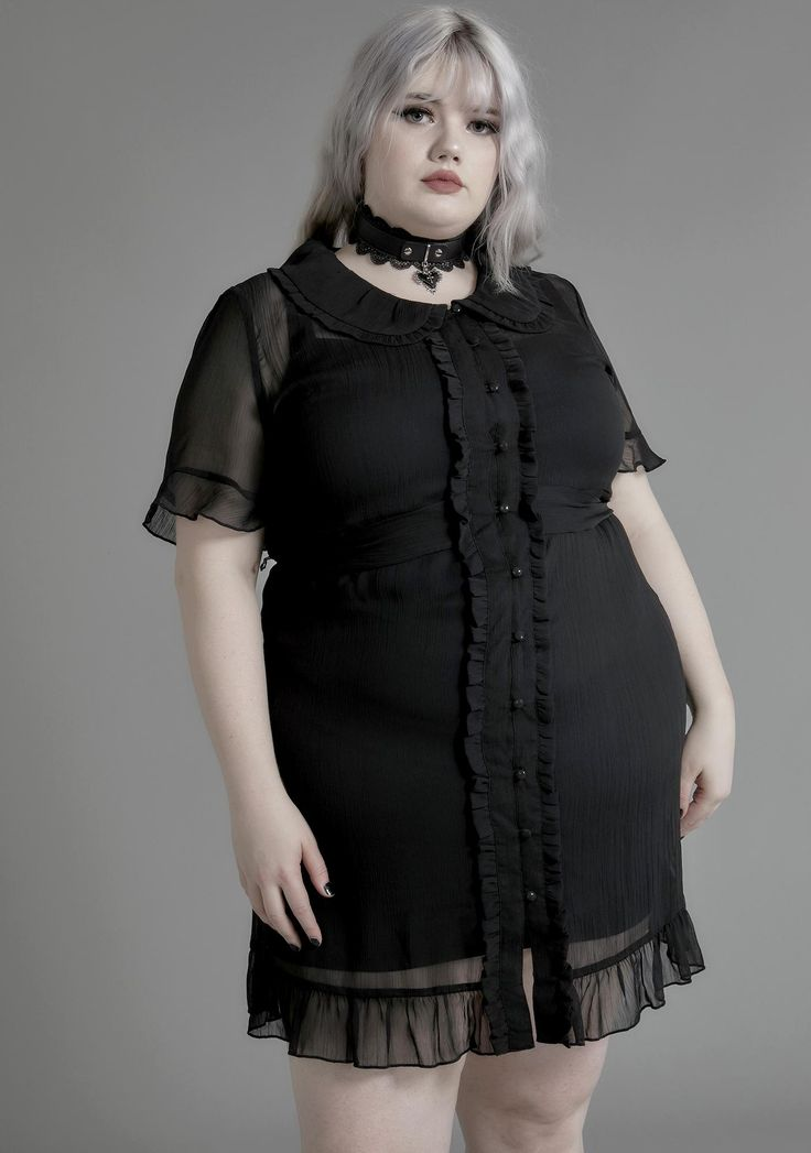 Park Art My WordPress Blog_Plus Size Sheer Shirt Dress