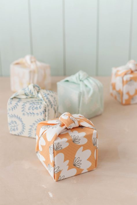 fabric wrapped packages