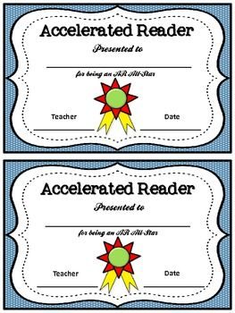 Accelerated Reader and Math Awards