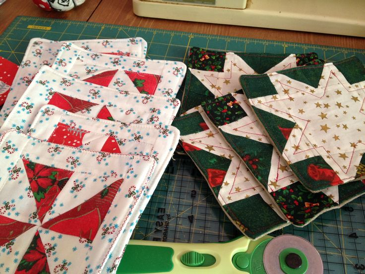 christmas mats made for Hatz/kio bazaar