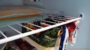 Organize your freezer space with paper clips??? Hahaha! I can't imagine taking the time to clip my vegetables.