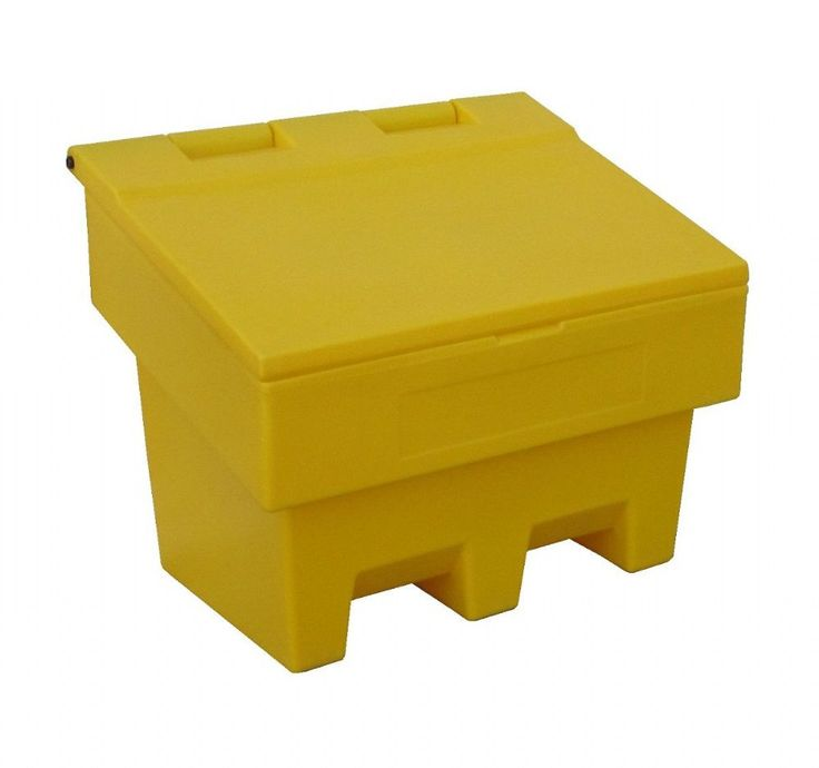 Lovely Our Compact Mini Cu Ft 100 Litre Slimline Grit Salt Bin Is UK Made With  Durable UV Resistant Plastic In Yellow To Aid Location U0026 Storage.