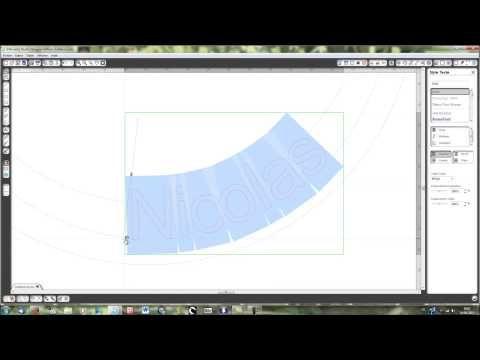 Silhouette Caméo - Souder un texte à des cercles concentriques (faire part rond) - YouTube