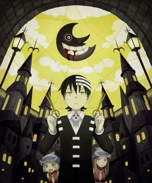 Kid, Liz and Patty... And scissors Soul Eater