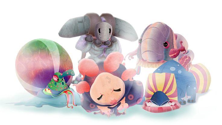 #monsters #illustration #fantasy #character #design #artwork