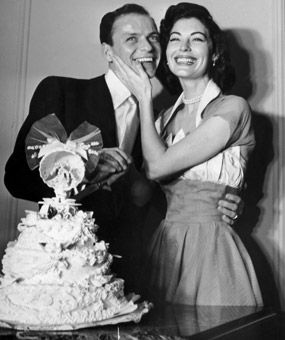 Frank Sinatra & Ava Gardner, 1951    The singer married his second wife, actress Ava Gardner, at a friend's home in Philadelphia.