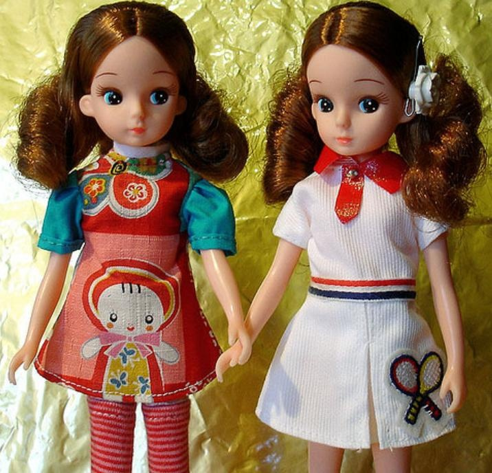 Licca dolls (i have the tennis player on the right, she's lovely !)
