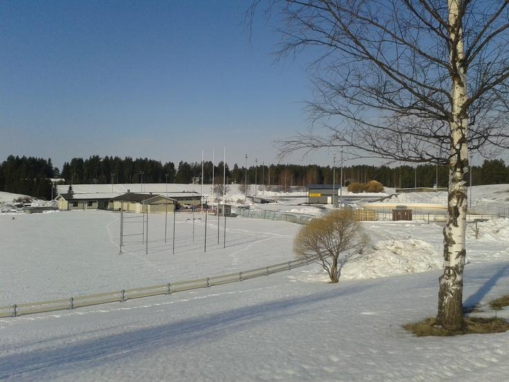 Some sport center in Sarkkiranta, Kempele.