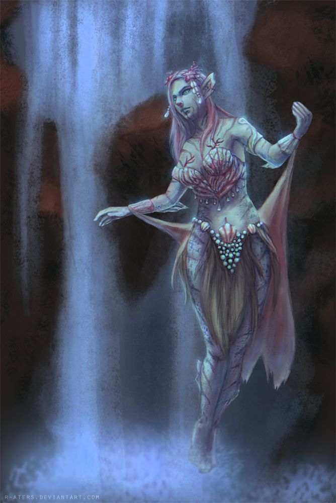 The Elder Scrolls: Online - Nereid by R-Aters.deviantart.com on @DeviantArt