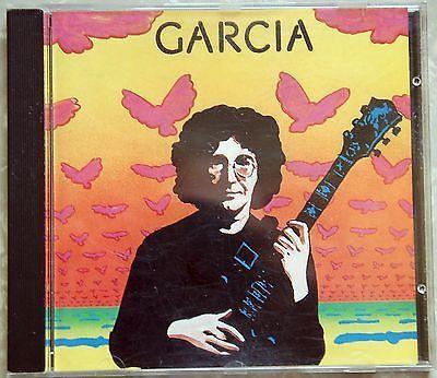 JERRY GARCIA Compliments 1990 CD Second Solo Album 1974 Grateful Dead Remastered