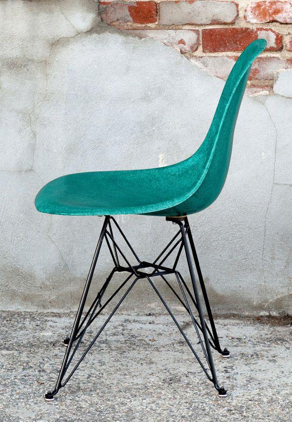 38 best Eames fiberglass side chair restoration images on ...